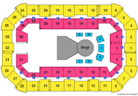 Dow Event Center Seating Chart Cheap Dow Event Center Tickets