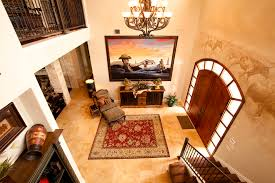 pretty sherwin williams latte vogue austin traditional entry decorators with antique cows entry murals ranch ranch animal hide rugs home office traditional