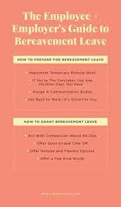 bereavement leave