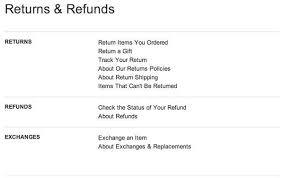 policy templates sample return policy for ecommerce stores termsfeed