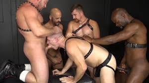 Black on white gay orgy rapidshare