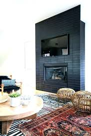 grey brick fireplace fireplace painted brick before and after images ideas brick fireplace ideas full size