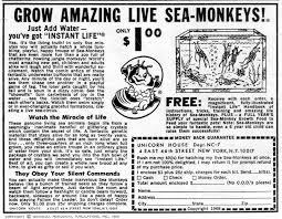 sea monkeys mars will send no more vintage