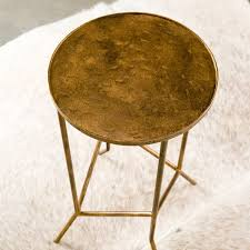awesome round iron side table modern round iron side table