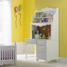 White desk with hutch Stanley Portia 48 Wayfair Girls White Desk With Hutch Wayfair
