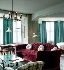soho house berlin burgundy furniture decorating ideas