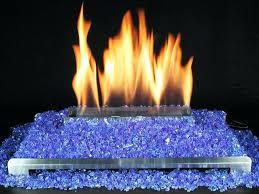 glass rocks for gas fireplaces. fireplace glass rocks blue fire gas amber 10 lbs for fireplaces a