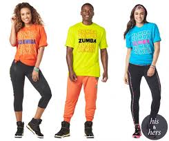 One Size Fits Most Zumba Forever Party T Shirt Orange Zumba Green Or Blue