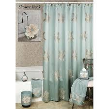 image of aqua shower curtain hooks