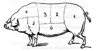 Hog Meat Cuts Chart Pin On Products