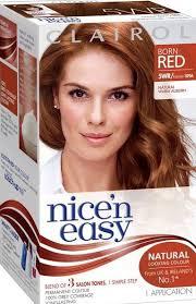 Clairol Nicen Easy Natural Warm Auburn 5wr In 2019 Hair
