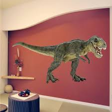 dinosaur wall decal on dinosaur bedroom wall stickers with dinosaur wall decal trex decal animals wall decal murals