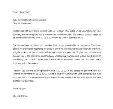 Sample Vendor Service Termination Letter Template Format Agreement ...
