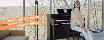 Digital Piano Comparison Chart Roland Digital Piano Comparison Guide Differences Pmt Online