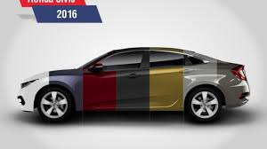 Honda Civic Color Code Chart 2016 Honda Civic Revealed In All 7 Colors Pakwheels Blog