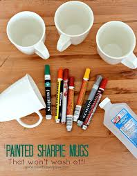 painted sharpie mugs that won t wash off