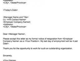 Heartfelt Resignation Letter Magnificent Don't Be A Jerk How To Write A Classy Resignation Letter Squawkfox