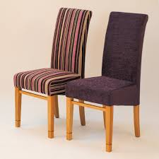fabric dining room chairs for sale. bow518 a pair of dining chairs fabric room for sale