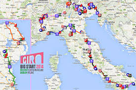 Take a peek at some of the incredible sights you'll experience along the way in the preview gallery abovebelow. The Tour Of Italy 2014 Race Route On Google Maps Google Earth And All Details Blog Velowire Com Photos Videos Actualites Cyclisme