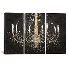 icanvas grand chandelier black i by james wiens canvas wall art