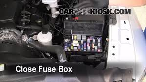 interior fuse box location 2009 2010 dodge ram 1500 2009 dodge secure the cover and test component