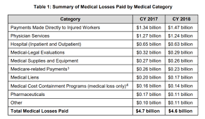 Wcirb 2018 Work Comp Losses And Expense Report Workers