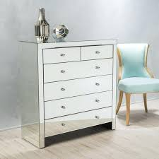 mirrored chest of drawers 6 drawer mirrored chest mirror chest drawers uk mirrored chest of drawers