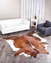 brindle tricolor brazilian cowhide rug 089 38 1 sq ft