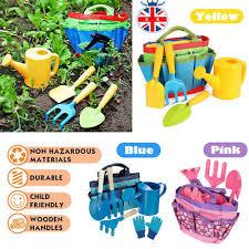 6pcs kids children gardening tools set