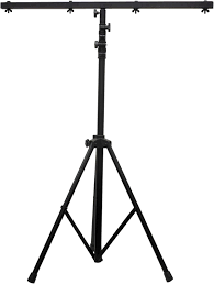adj american dj economy light stand 9 foot with crossbar