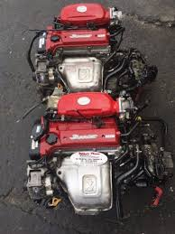 Toyota 3sge RED Top Single Beams Engine with Gearbox for sale at ...