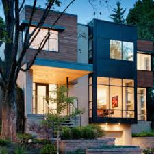 Urban Townhouse Design Modern Contemporary Townhouse Stands Out