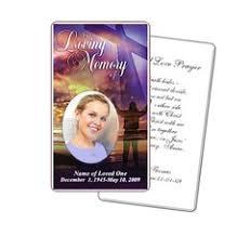 Funeral Prayer Cards Funeral Prayer Cards And Download Diy Templates