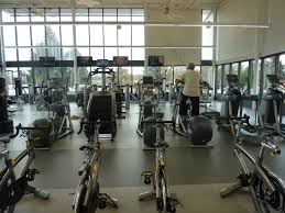 Our spacious fitness room has cardio equipment, free weights and more. Drop  in for a workout!