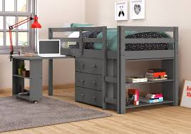 kids loft bed with desk. New Caden Loft Beds For Kids Bed With Desk
