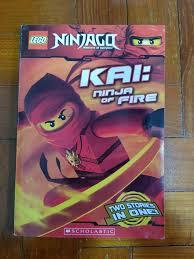 Lego Ninjago Kai: Ninja of Fire, Books & Stationery, Children's Books on  Carousell
