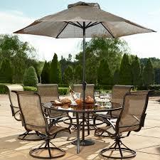 round table patio furniture sets elegant grand resort oak hill 60