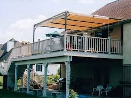 Awnings For Decks Metal Deck Awning Ideas Near Me