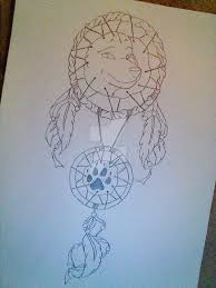 Dream Catcher Tattoo Stencils Wolf Dream Catcher Tattoo Design 100 by TemperedTattoos on DeviantArt 95