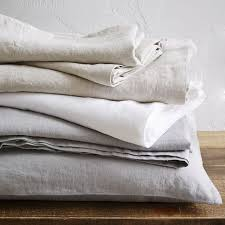 belgian flax linen sheet set courtesy of west elm