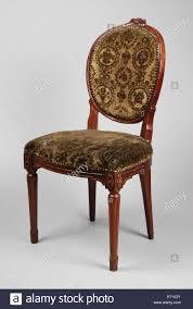 Metal Crest Design Mahogany Louis Seize Medallion Chair Medallion Chair Seat