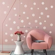 mini snowflakes wall decal