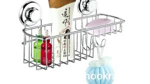 suction cup shower caddy vanity bathroom accessories stainless suction cup shower on suction cup shower caddy