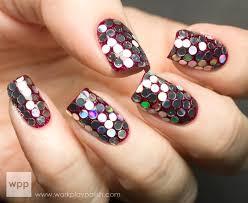 10 Stylish Nail Art Glitter ideas 2015