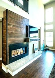 fireplace wall ideas with living room modern design tv above white
