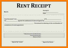 examples of rent receipts doc 480623 rental receipt example rent receipt template for
