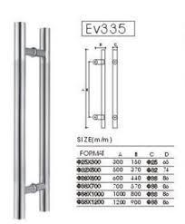 s335 folding door handle