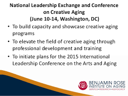 Image result for national center for creative aging 2014 leadership exchange & conference