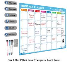 Magnetic Chart Paper Magnetic Chore Chart For Kids Dry Erase Planner Board A3