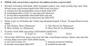 Soal pendidikan agama islam tingkat sma bank soal ujian sumber : Kumpulan Soal Pai Smp Kelas 8 Semester Ganjil Didno76 Com